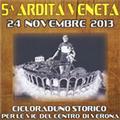 5^ Ardita Veneta Cicloraduno storico 2013. Apri il manifesto