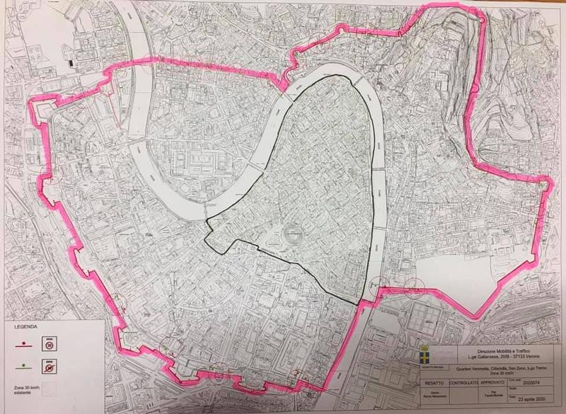 Zona 30 - clicca per ingrandire la mappa