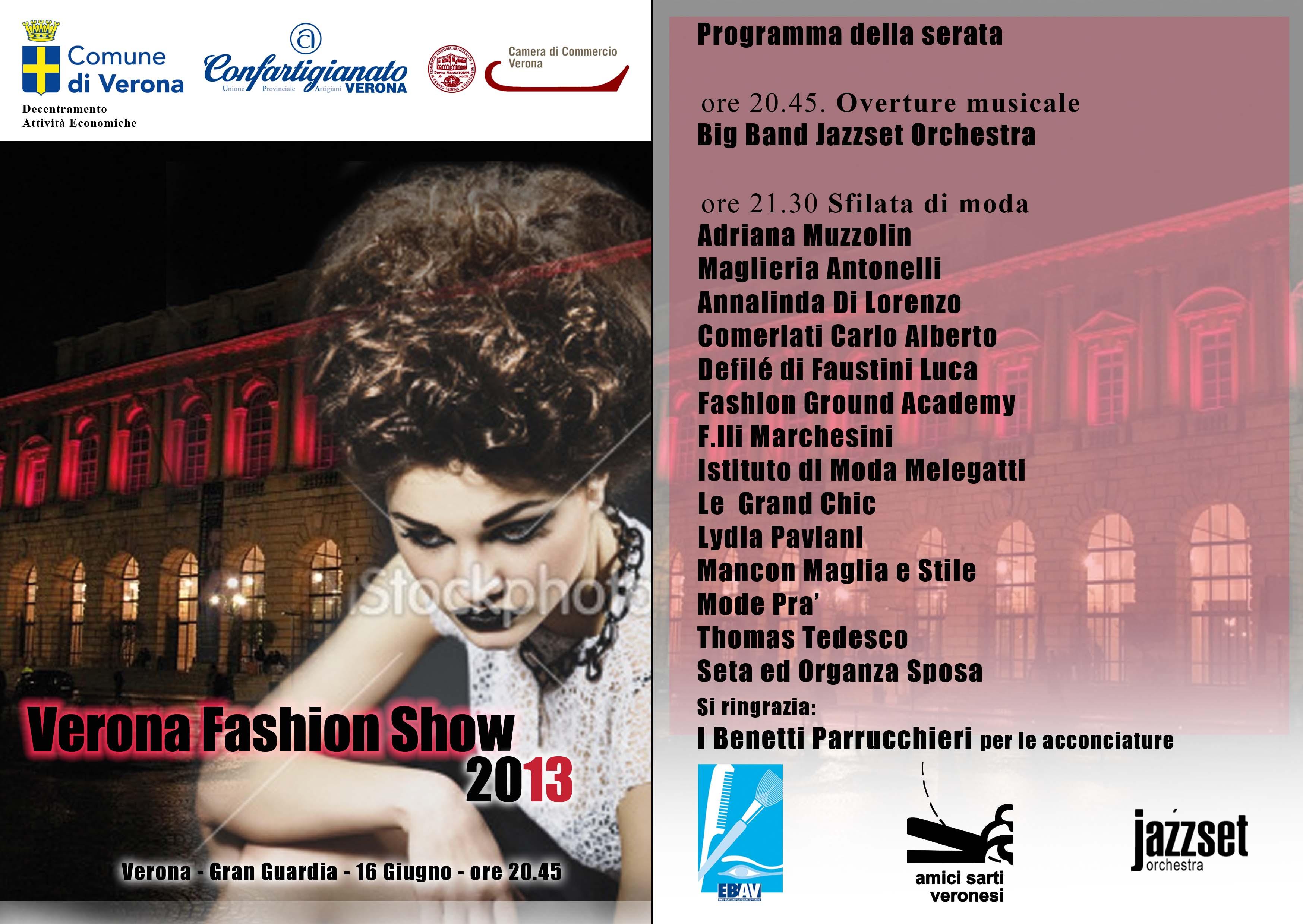 volantino verona fashion show